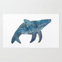 Blue Whale Rug