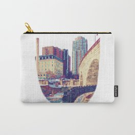 Stone Arch Bridge-Minneapolis, Minnesota Carry-All Pouch