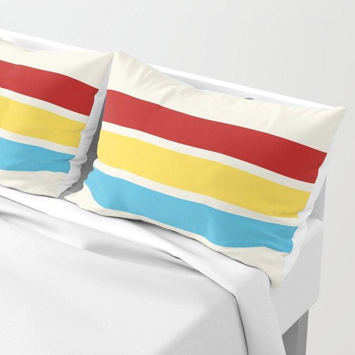 Hanbei - Classic Retro Stripes Pillow Sham