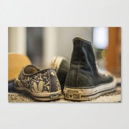 Shoe Choice Canvas Print