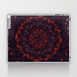 Swirling Mandala Laptop & iPad Skin