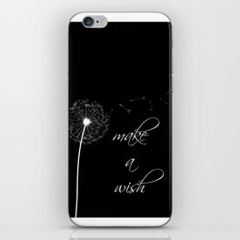 Make a wish - inverted iPhone Skin