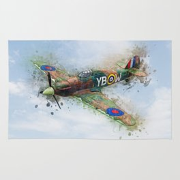 Hawker Hurricane Mk II Rug