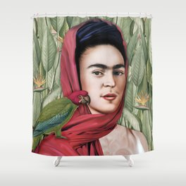 Frida Vida Shower Curtain