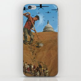 Your Democracy at Work iPhone Skin