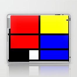 Mondrianista Laptop & iPad Skin