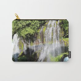 Rainbow at Panther Creek Falls Carry-All Pouch