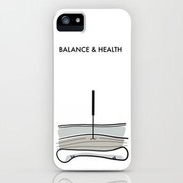 Acupuncture - Balance & Health iPhone Case