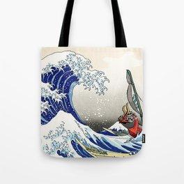 Legend of Zelda Great Wave Windwaker - the great wave off kanagawa Tote Bag