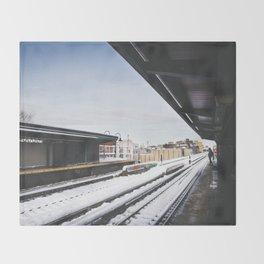 J Train Throw Blanket