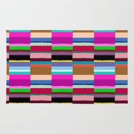 Tribal Stripe Kilim in Multi Rug