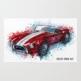 Shelby Cobra 427 Rug