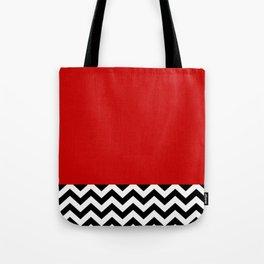 Twin Peaks Red Room Tote Bag