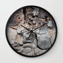 Stone Stories Wall Clock