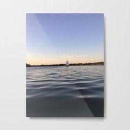 Sailing Lake Nokomis Metal Print
