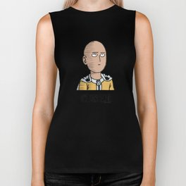 "One Punch Man ""OK"" Biker Tank"