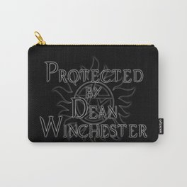 Protected by Dean Winchester Carry-All Pouch