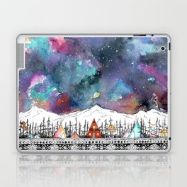 Mountain Camp Vibes Laptop & iPad Skin