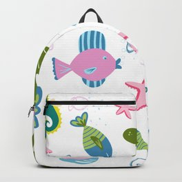 On The Bottom of The Sea Backpack