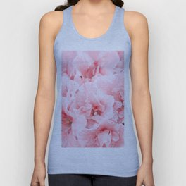 Pink Azalea Flower Dream #2 #floral #decor #art #society6 Unisex Tank Top