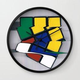 rubik II Wall Clock