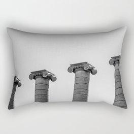 The Four Columns Rectangular Pillow