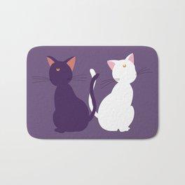Luna & Artemis (Minimalist) - Purple Bath Mat