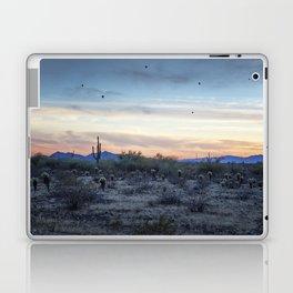 Hot Air Balloons Outside Phoenix at Sunset Laptop & iPad Skin
