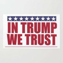 In Trump We Trust Rug