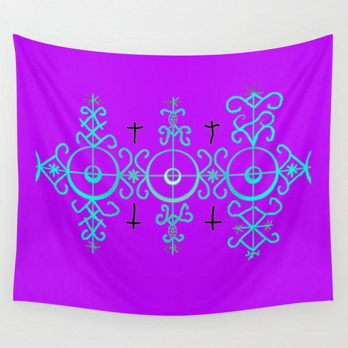 Voodoo Symbol Marassa Jumeaux Wall Tapestry By Aquamanofpdx Society6