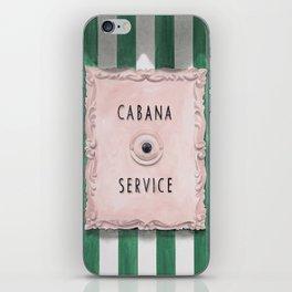 Cabana Service iPhone Skin