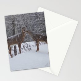 Kissing Deer Stationery Cards