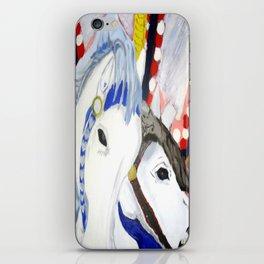 Carousel Horses Seaside Amusements Fine Art iPhone Skin