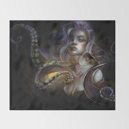 Unfortunate souls - Ursula octopus Throw Blanket