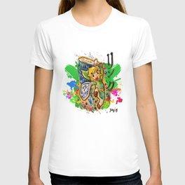 Original - Link - Watercolor Poster Painting - Legend of Zelda T-shirt