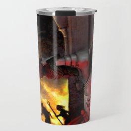Dragon Age - Cullen - Tower in Flames Travel Mug