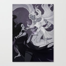 Nyx and Selene Canvas Print