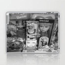#BarbieLou with tomodachi b/w Laptop & iPad Skin