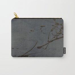 Jackson Pollock Inspired Study In Black - Glam Carry-All Pouch