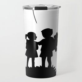 war is over banksy Travel Mug