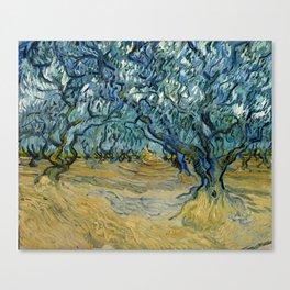 "Vincent Van Gogh ""The Olive Trees, Saint-Rémy"" Canvas Print"