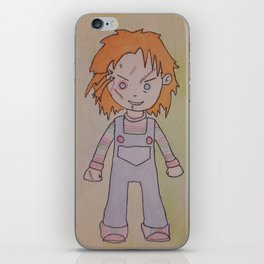 Chuckie iPhone Skin