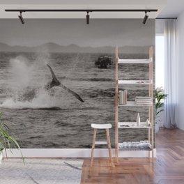 Whale Watching - Humpback Whale Wall Mural