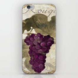 Tuscan Table Rouge iPhone Skin