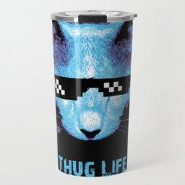 Thug Life (cat) Travel Mug