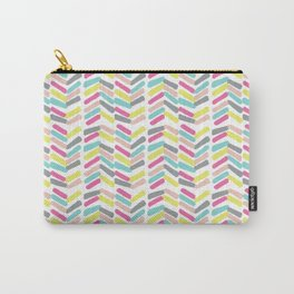 Summer Painted Bars Carry-All Pouch