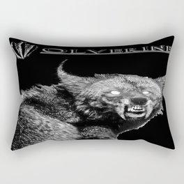A W-olverine Named Howlie Rectangular Pillow