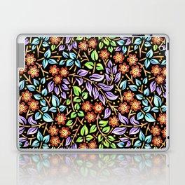 Filigree Floral smaller scale Laptop & iPad Skin