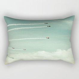 above the clouds Rectangular Pillow