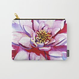 Bleeding Lotus Carry-All Pouch